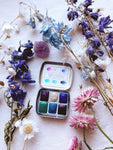 RESERVE for Elsa  + Tree Alchemy  -  Limited edition Mineral watercolor palette