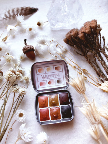 "Desert Medicine - ""Being You"" - Limited edition Mineral watercolor palette"