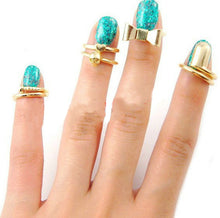 Load image into Gallery viewer, 7pc Midi Ring Set