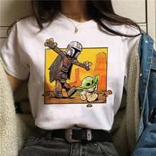 Load image into Gallery viewer, Baby Yoda Mandalorian T Shirt