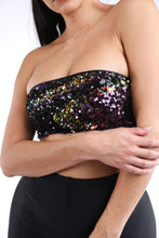 Load image into Gallery viewer, Sequin Tube Tank Top