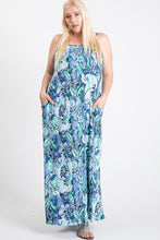 Load image into Gallery viewer, One Side Slit Cami Maxi Dress