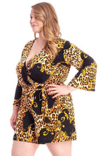 Load image into Gallery viewer, Leopard Print  Loose Fit Romper