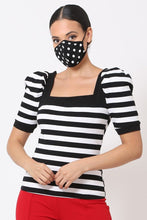 Load image into Gallery viewer, Polka Dots 3d Fashion Reusable Face Mask