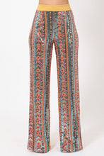 Load image into Gallery viewer, High Waist Colorful Sequins Pattern Pants