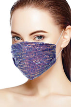 Load image into Gallery viewer, Grape 3d Sequin Fashion Facemask