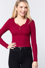Load image into Gallery viewer, Snap Button Detail Sweater Top