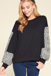 Solid Jersey Casual Top