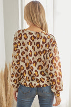 Load image into Gallery viewer, Casual Leopard Print Long Sleeve