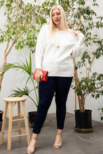 Load image into Gallery viewer, Round Neck Long Sleeve Solid Sweater
