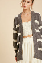 Load image into Gallery viewer, Stripe Cardigan