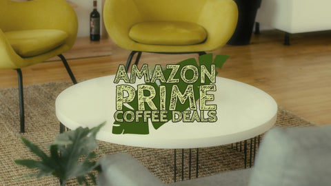 Amazon Prime day coffee deals banner