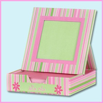 Delta Zeta Memo Box With Frame