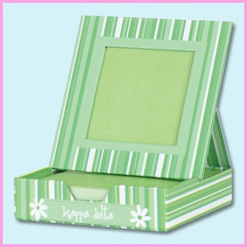 Kappa Delta Memo Box With Frame