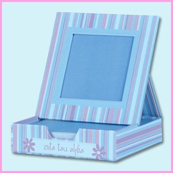 Zeta Tau Alpha Memo Box With Frame