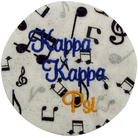 Kappa Kappa Psi Full Name Fabric Button