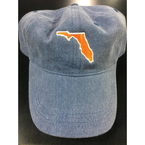 Custom Embroidered Florida Adjustable Cap