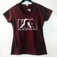 Lambda Theta Alpha Pearls V-Neck