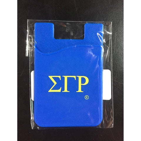 Sigma Gamma Rho Cell Phone Wallet