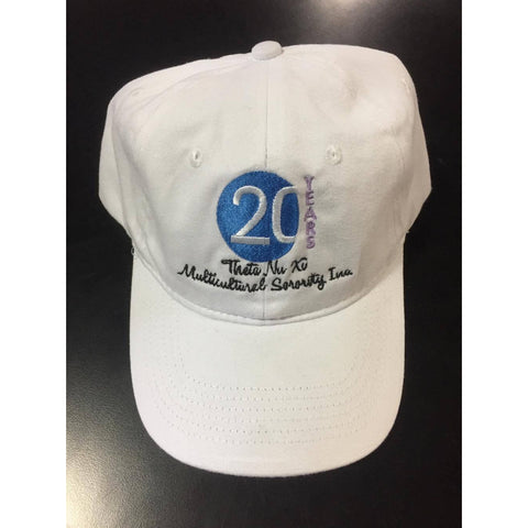 Theta Nu Xi Official 20th Anniversary Cap