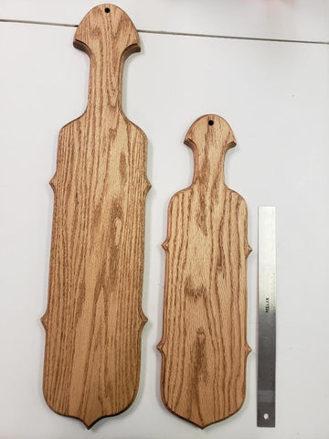 "Stained Oak Paddle ""B"""