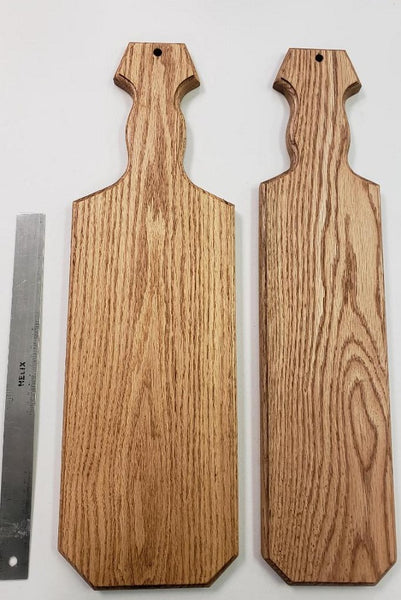 "Stained Oak Paddle ""A"""