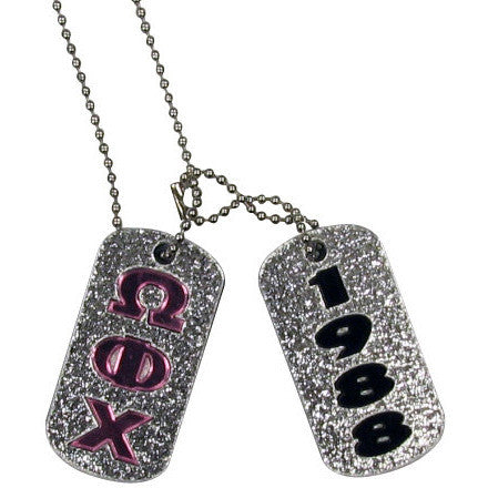 Omega Phi Chi Dogtags