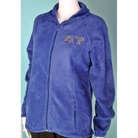 Sigma Gamma Rho Fleece Zip-Up