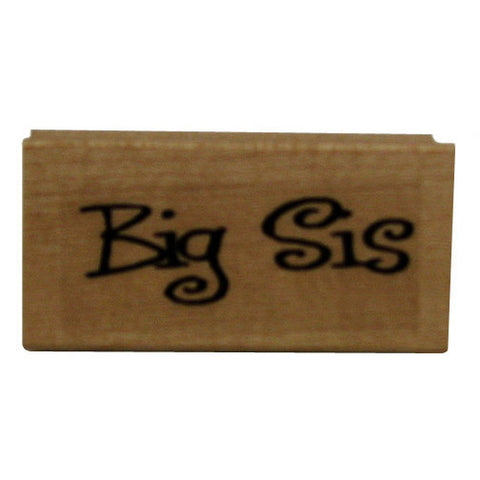 Big Sis Rubber Stamp