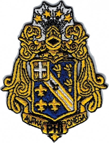 Alpha Phi Omega Shield Patch