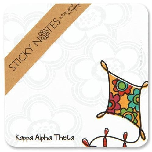 Kappa Alpha Theta Sticky Notes
