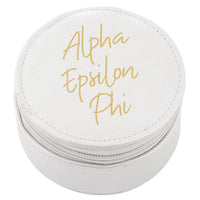 Alpha Epsilon Phi Round Travel Case