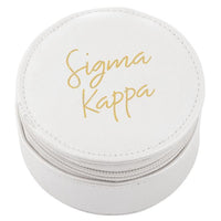 Sigma Kappa Round Travel Case