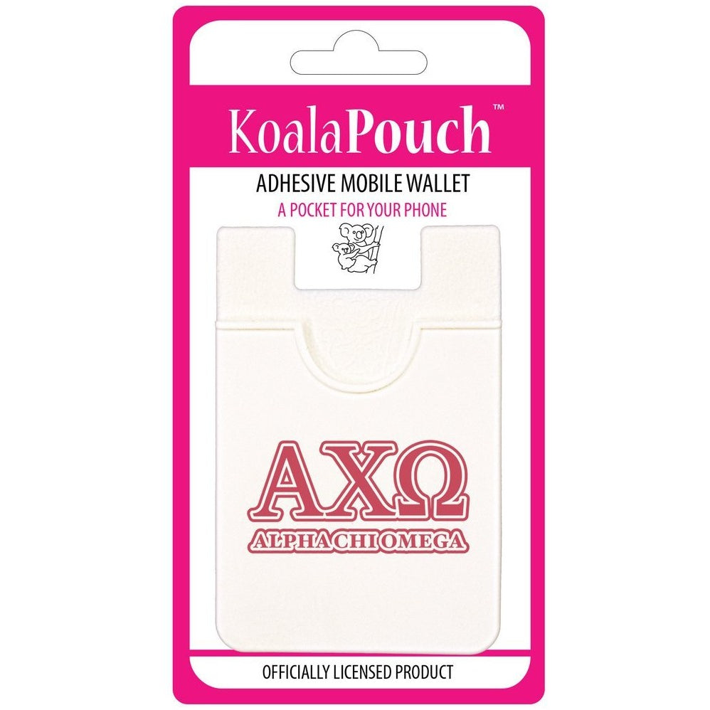 Alpha Chi Omega Cell Phone Pouch