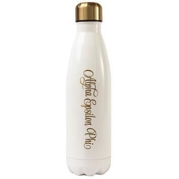 Alpha Epsilon Phi Water Bottle