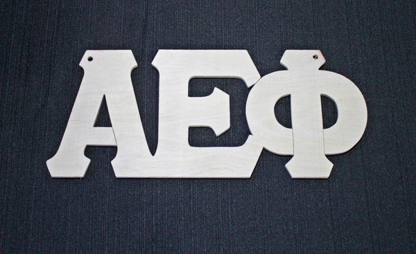 Alpha Epsilon Phi Wood Door Deck