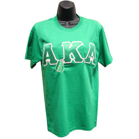 Alpha Kappa Alpha Embroidered DT Tee