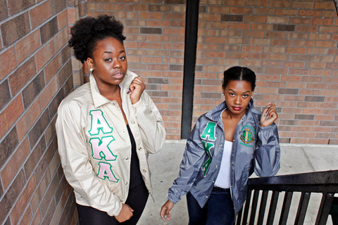 Alpha Kappa Alpha Crossing Jacket w/ Shield