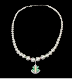 Alpha Kappa Alpha Pearl Necklace