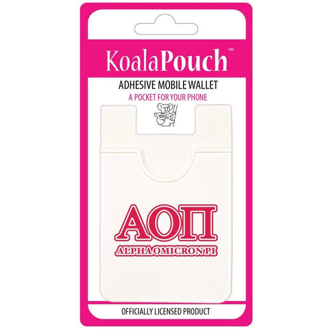 Alpha Omicron Pi Cell Phone Pouch