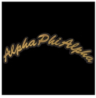 Alpha Phi Alpha Tackle Twill Rocker Patch
