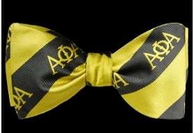 Alpha Phi Alpha Bow Tie and Handkerchief Set