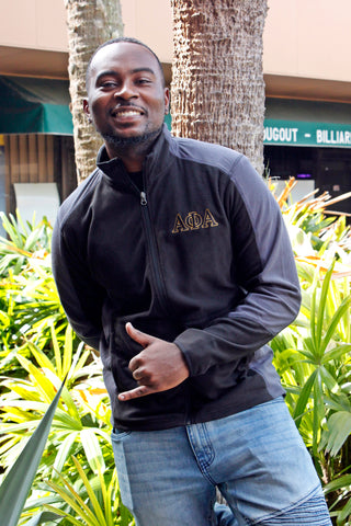 Alpha Phi Alpha Micro Fleece Jacket