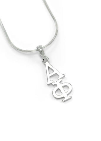 Alpha Phi Sterling Silver Lavaliere