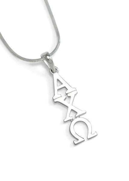Alpha Chi Omega Sterling Silver Lavaliere