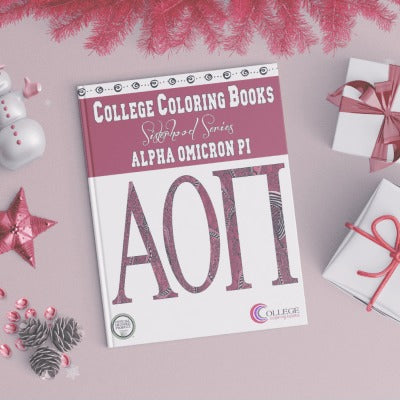 Alpha Omicron Pi Coloring Book