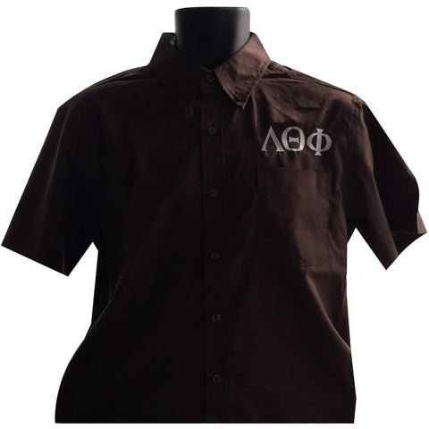 Lambda Theta Phi Button Up Tee