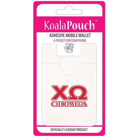 Chi Omega Cell Phone Pouch