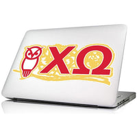 Chi Omega Laptop Skin/Wall decal