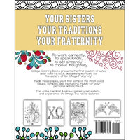 Chi Omega Coloring Book